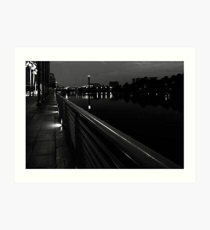 river rail Art Print