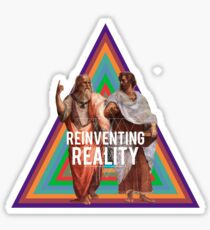 Reinventing Realities Sticker