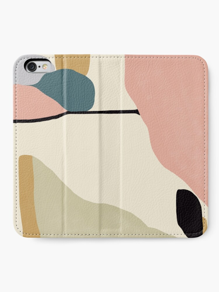 Alternate view of Abstract Landscape iPhone Wallet