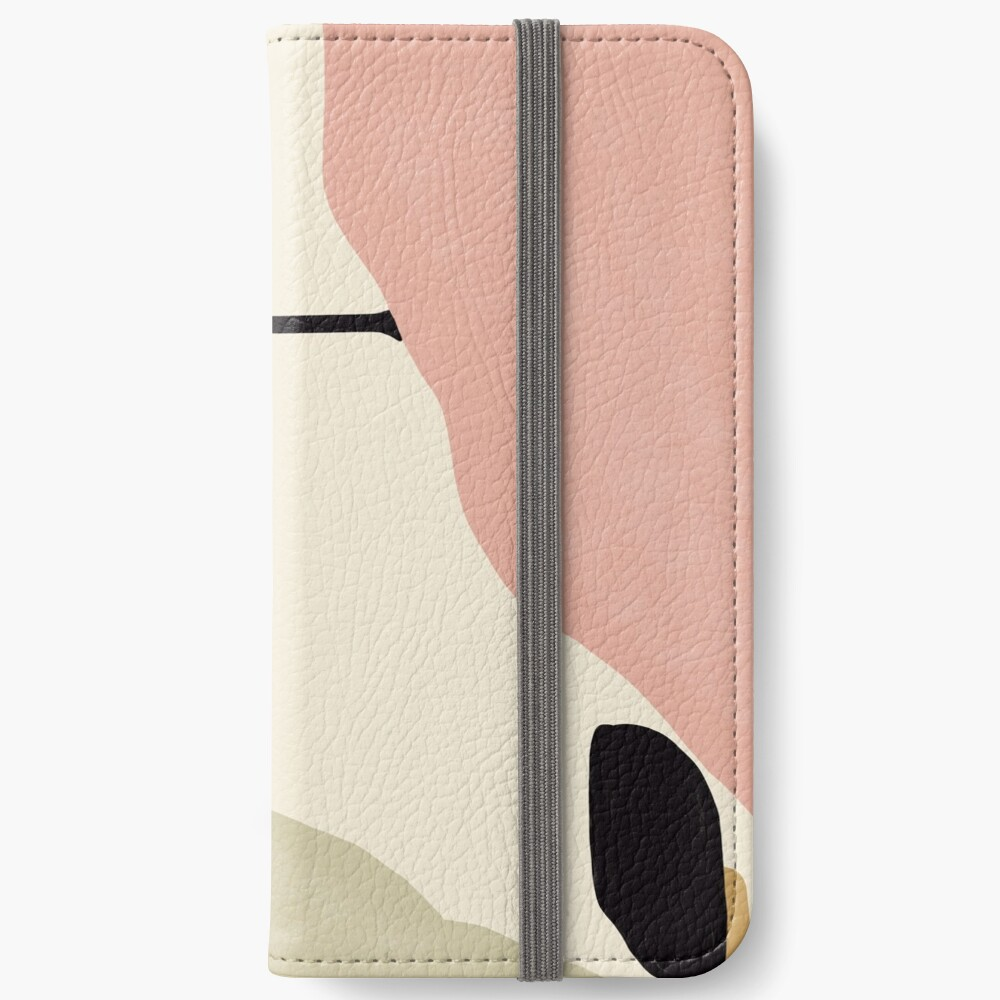 Abstract Landscape iPhone Wallet