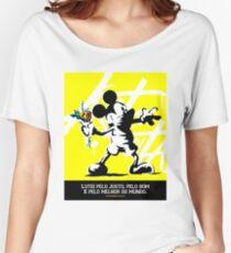 Astronauta revolução Women's Relaxed Fit T-Shirt