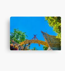 land of adventure Canvas Print