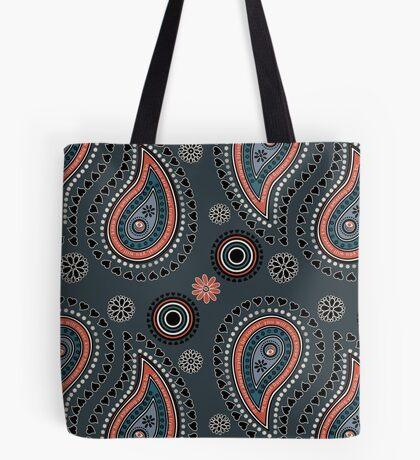 Paisley Hearts - Bold Tote Bag