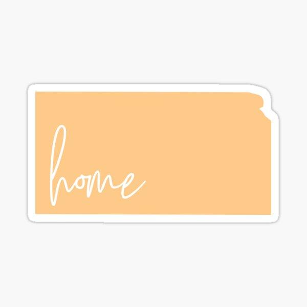 Kansas Home  Sticker