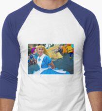 alice twirls Men's Baseball ¾ T-Shirt