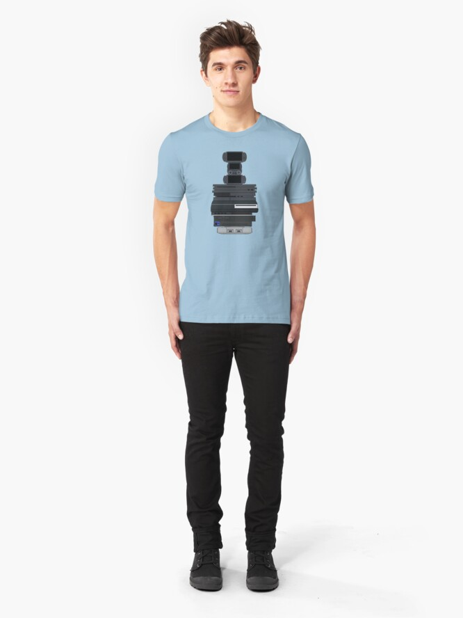 Alternate view of Playstations Slim Fit T-Shirt