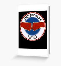 Hero - superhero Greeting Card