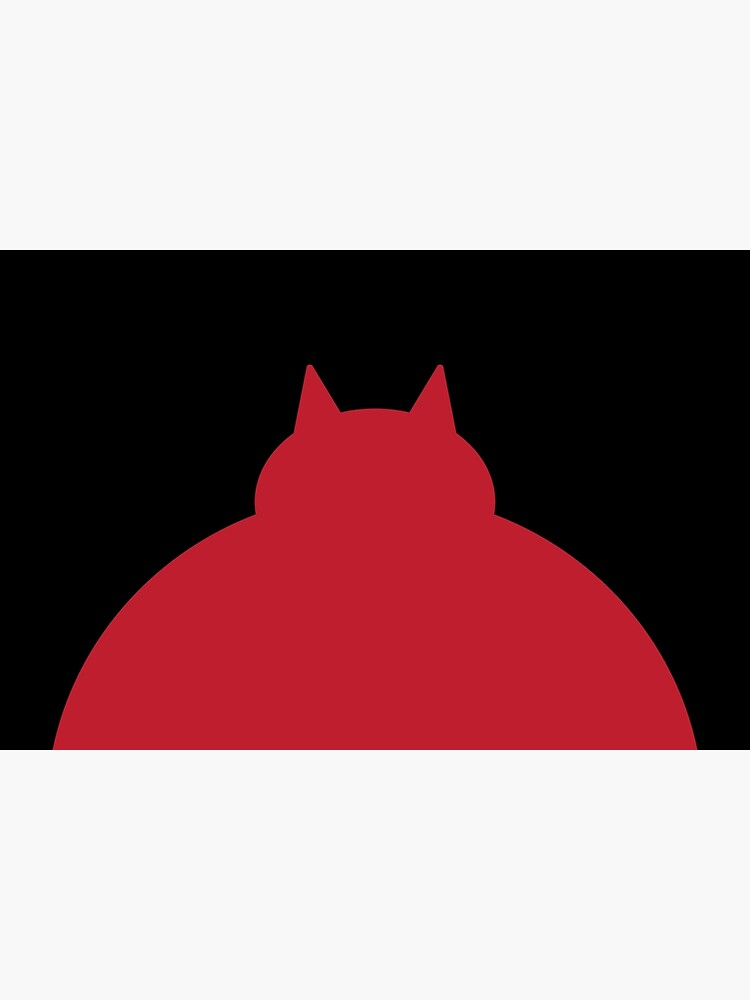 Fat Red Cat by Modnay