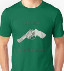 I shot the Sheriff, but I did not shoot the Deputy Unisex T-Shirt