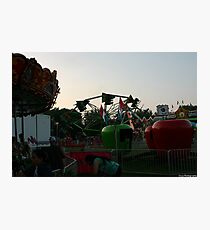 a evening at the fair Photographic Print