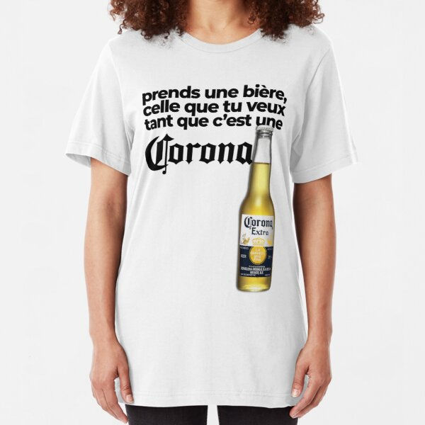 Take a beer, the one you want as long as it's a Corona - Fast and Furious Slim Fit T-Shirt
