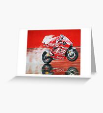 motoGP Alice ducati Greeting Card