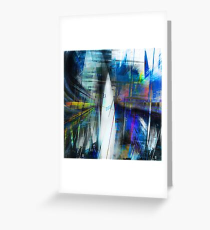 Sailing Free inside The City Greeting Card