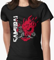 Cyberpunk 2077 Samurai Fitted T-Shirt