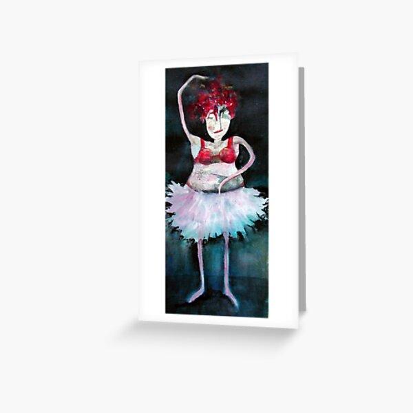 ballerina Greeting Card