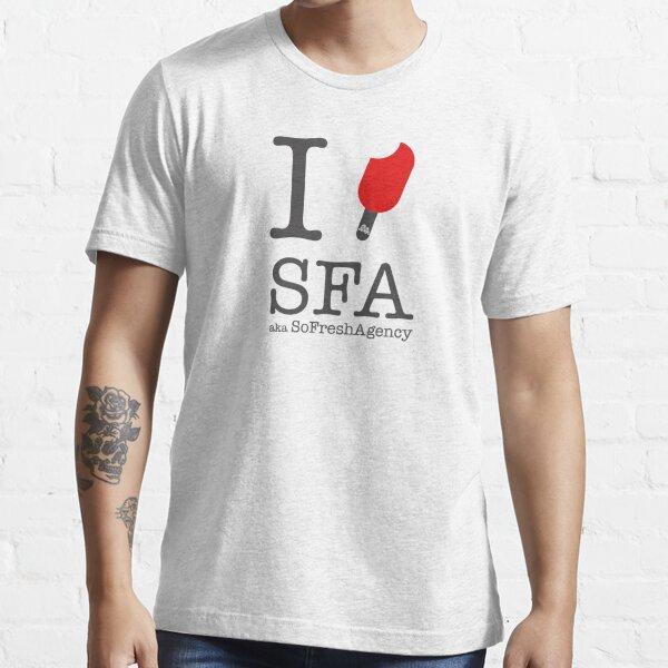 SoFresh Design - I LOVE SFA  Essential T-Shirt