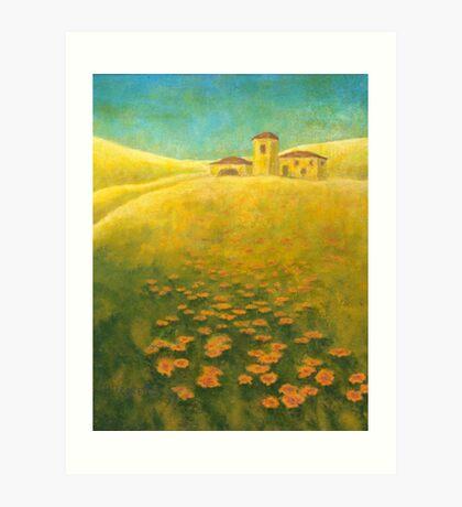 Tuscan Gold 02 Art Print