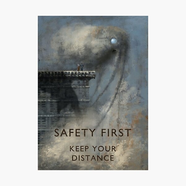 Safety first Photographic Print