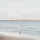 Küsten-, Strandkunst, Blau neutral, Wasser, Meer, Ozean von juliaemelian