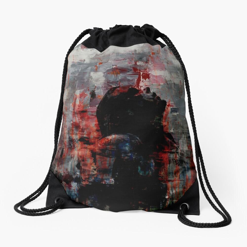 Coming Up For Air II Drawstring Bag
