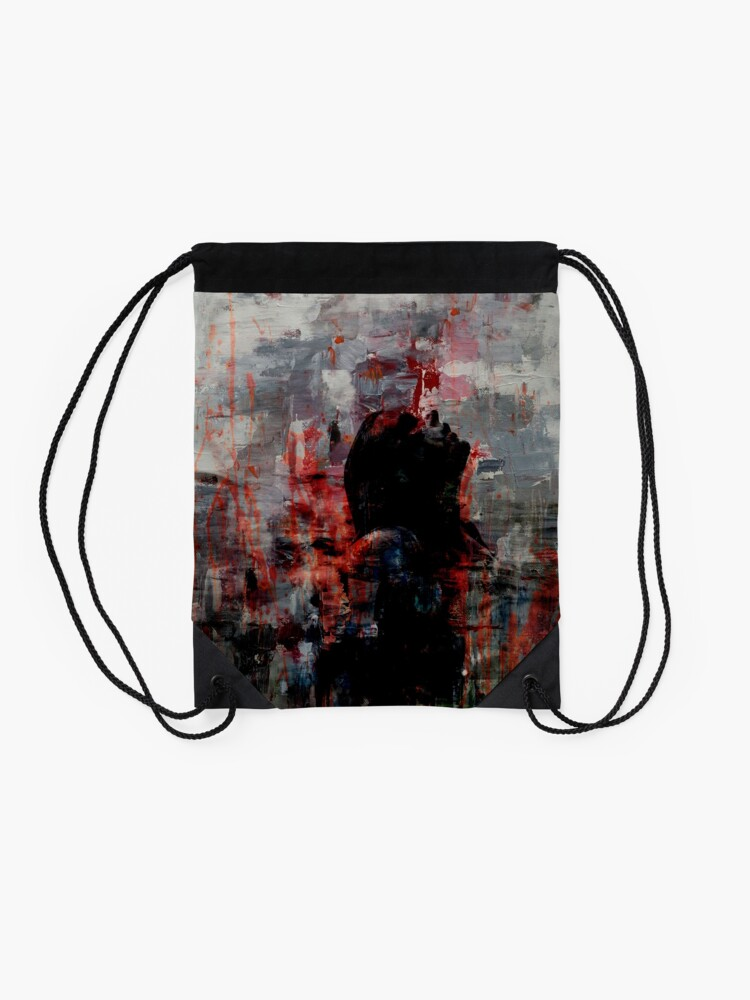 Alternate view of Coming Up For Air II Drawstring Bag
