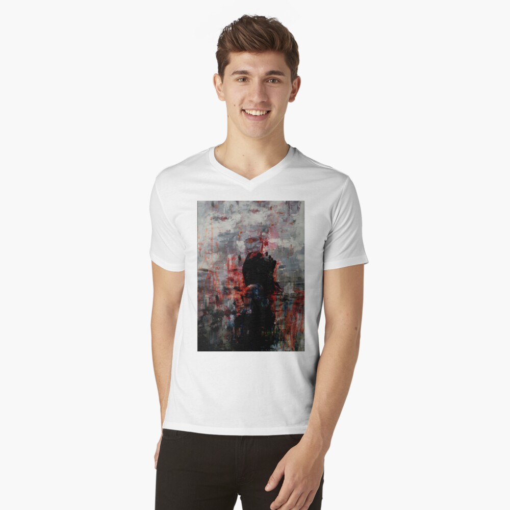 Coming Up For Air II V-Neck T-Shirt