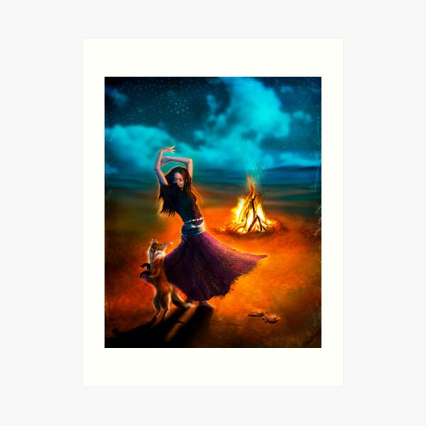 Dance Like a Dervish II Art Print