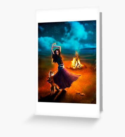 Dance Like a Dervish II Greeting Card