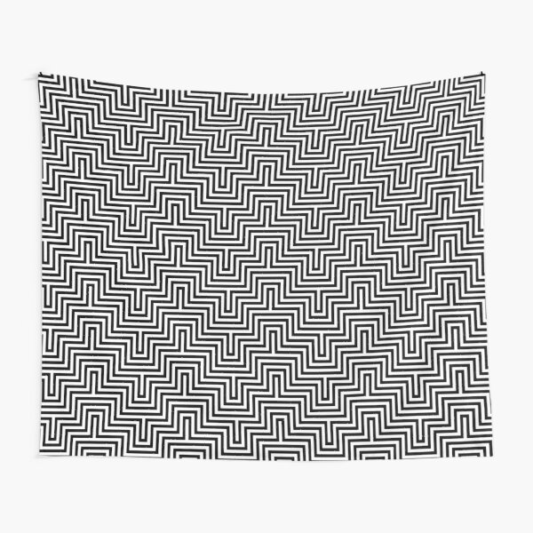 Op art - art movement, short for optical art, is a style of visual art that uses optical illusions Tapestry