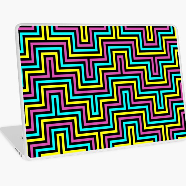 Op art - art movement, short for optical art, is a style of visual art that uses optical illusions Laptop Skin