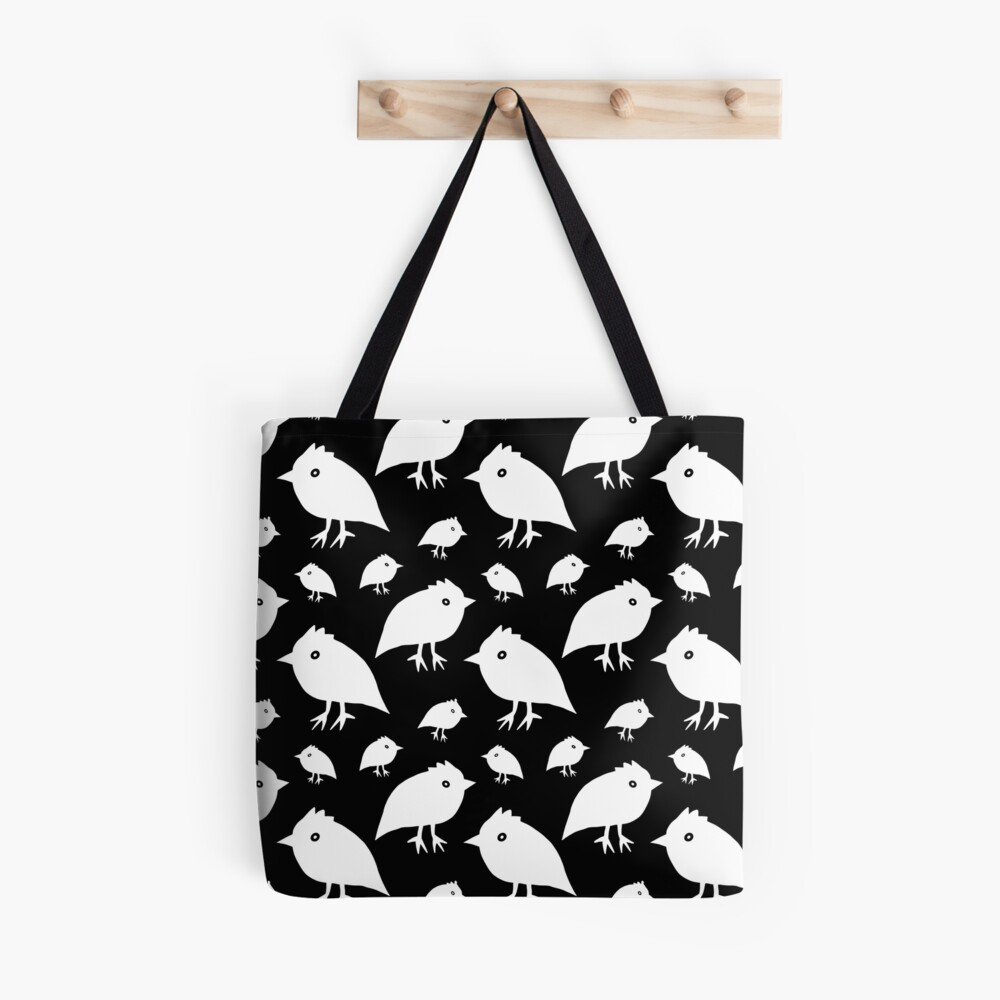 Cute Little Birds Tote Bag