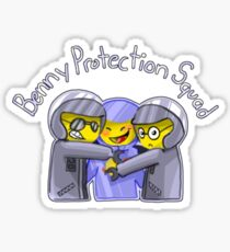 Benny Protection Squad Sticker