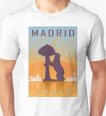 Madrid vintage poster T-Shirt