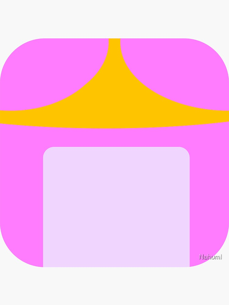 PRINCESS BUBBLEGUM FLAT ICON CIRCLE by NahumI