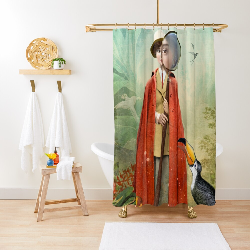 Page of Wands Shower Curtain