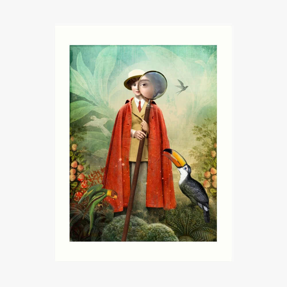 Page of Wands Art Print