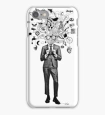analogue thought in the time of digital mayhem iPhone Case/Skin
