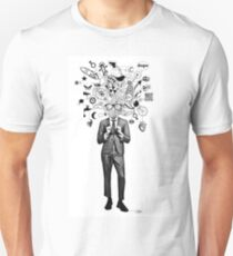 analogue thought in the time of digital mayhem Unisex T-Shirt