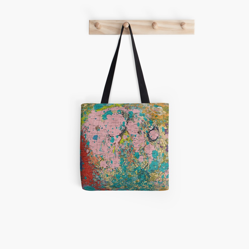 The Geology of the Moon Tote Bag