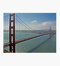 SHOT OF THE GOLDEN GATE Photographic Print
