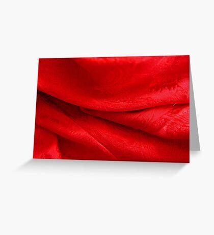 Folds Greeting Card