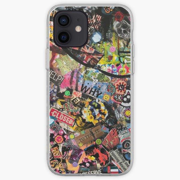 Graffiti Collage iPhone Soft Case