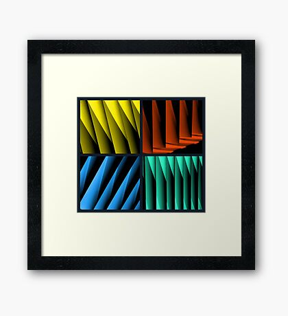 All for one... Framed Print