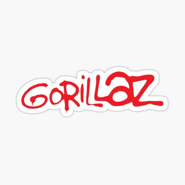 Gorillaz classic logo Sticker