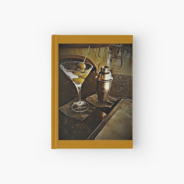 """Martini Bar 2a"" Original Photography by Tony DuPuis Hardcover Journal"