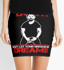 Shia Labeouf Dreams (Black Version) Mini Skirt