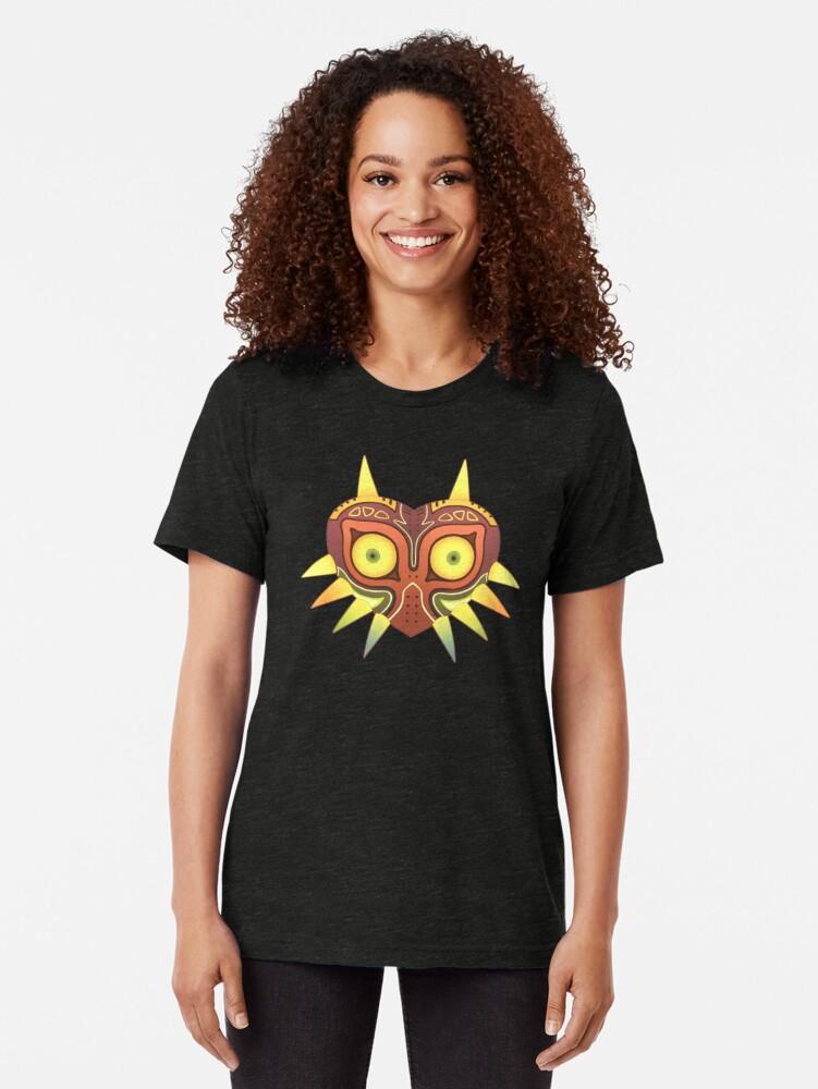 Vista alternativa de Camiseta de tejido mixto Majora