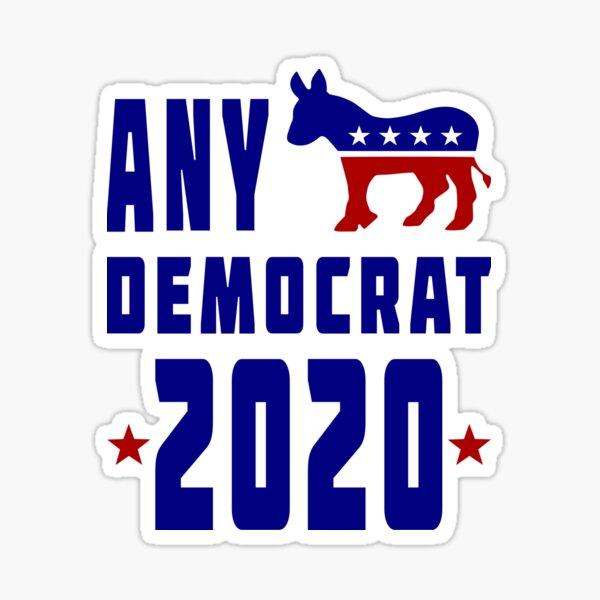Any Democrat 2020 Sticker