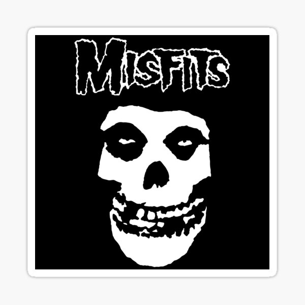 Misfits Logo Sticker