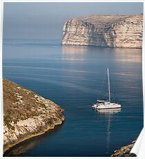 Xlendi Coast Poster